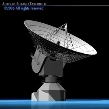 satelit antena 3d model 3ds dxf c4d obj 82130