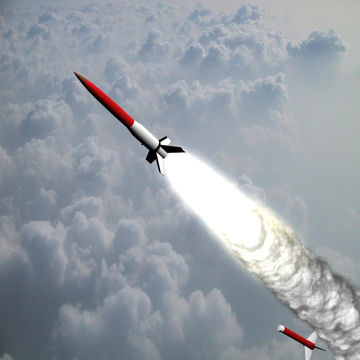 Astrobee 200 Rocket 3d model 3ds dxf fbx blend cob dae X   obj 165942