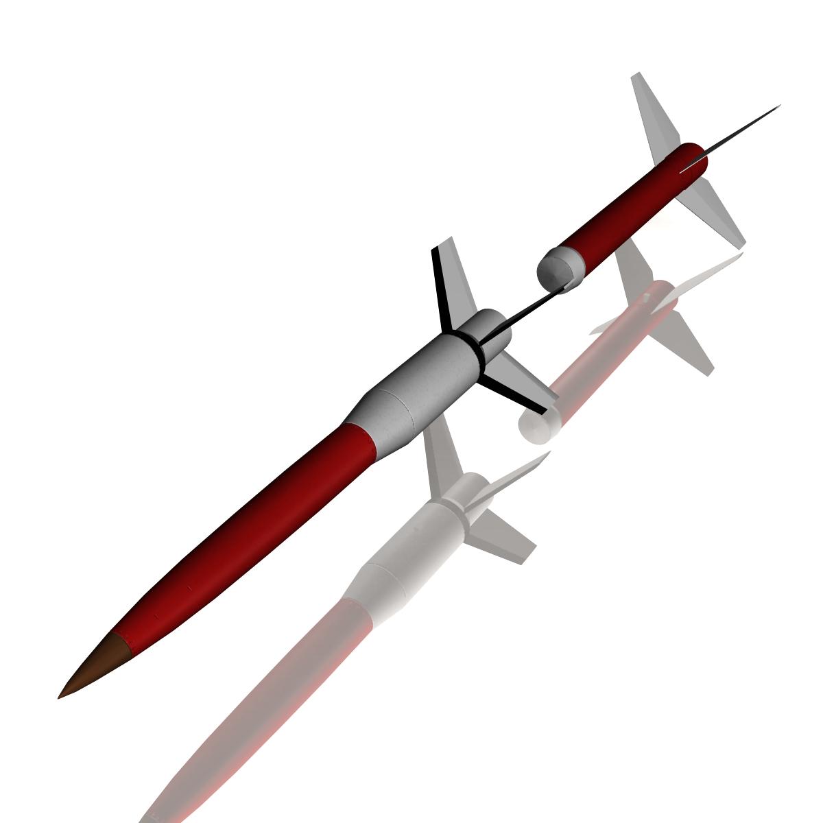 Astrobee 200 Rocket 3d model 3ds dxf fbx blend cob dae X   obj 165944