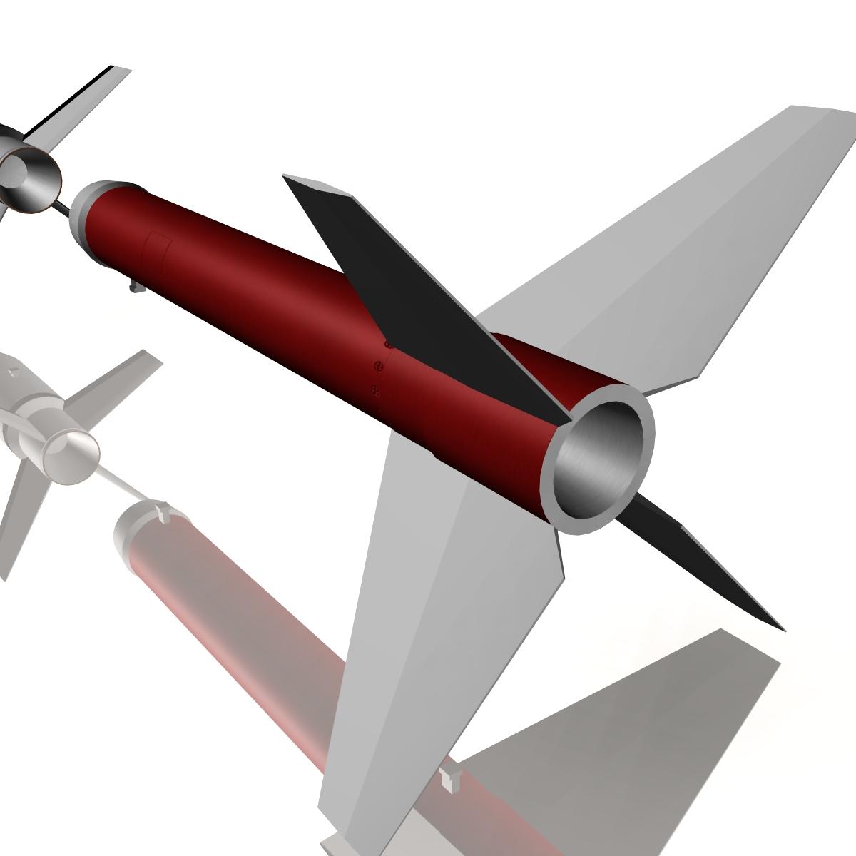 Astrobee 200 Rocket 3d model 3ds dxf fbx blend cob dae X   obj 165948