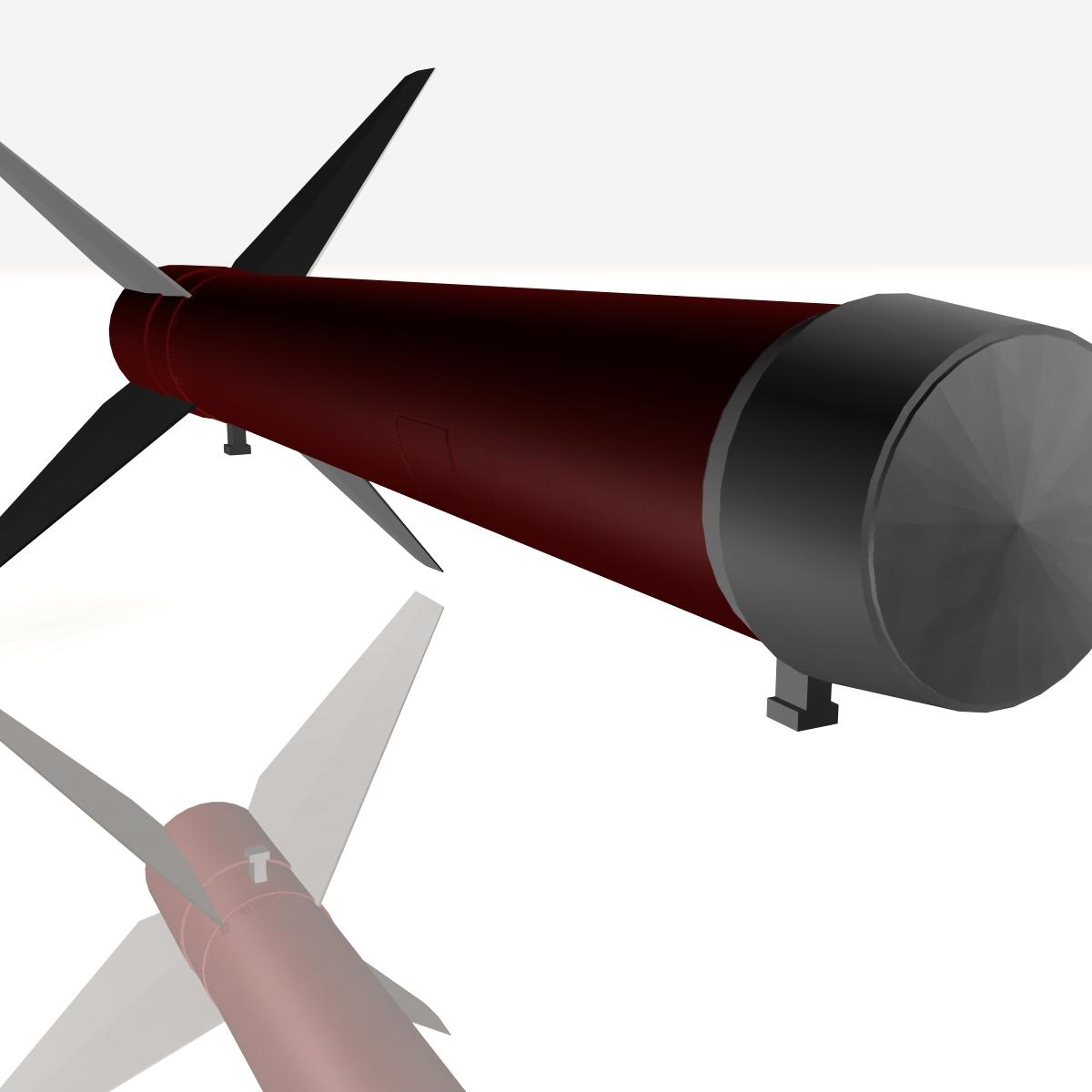 Astrobee 200 Rocket 3d model 3ds dxf fbx blend cob dae X   obj 165950