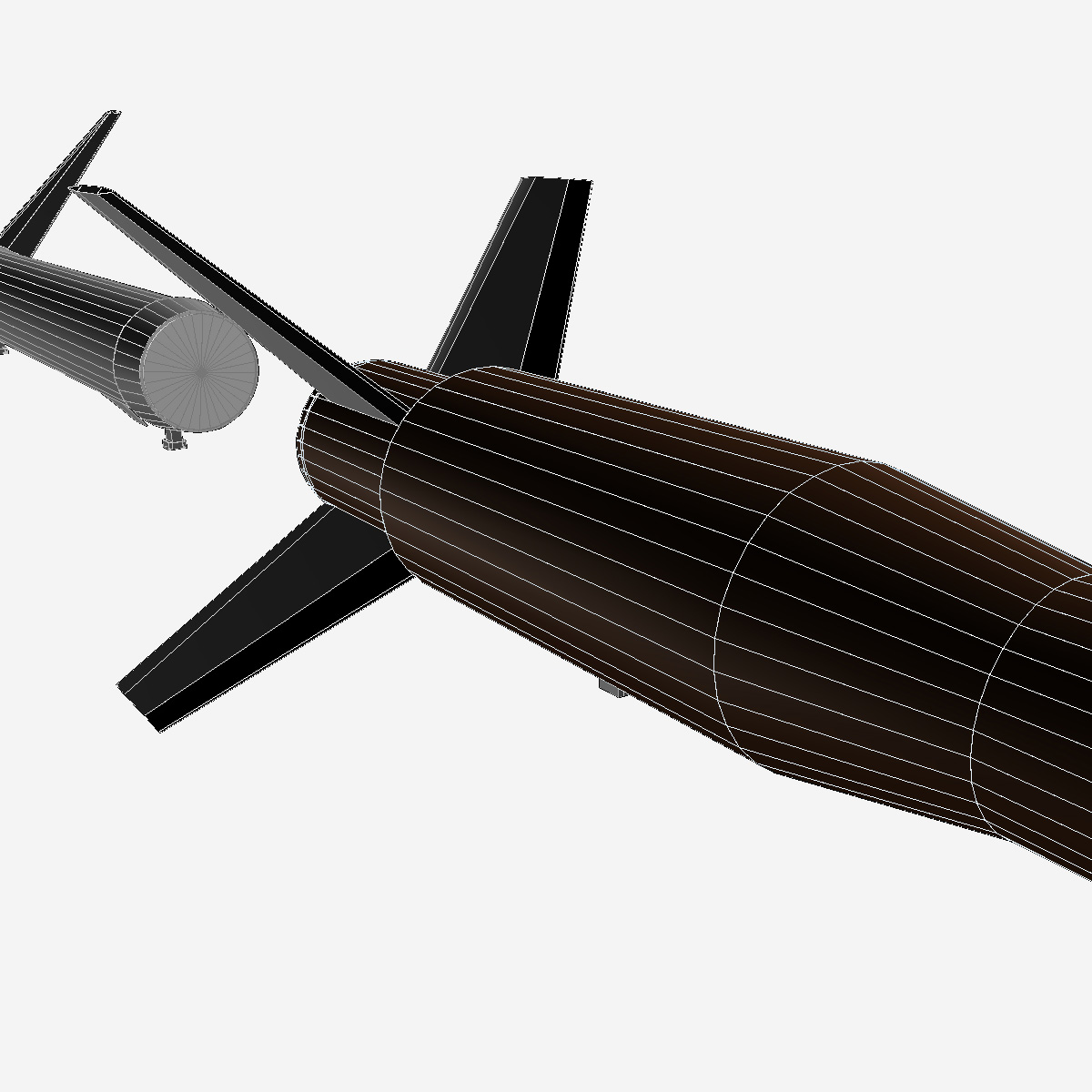 Astrobee 200 Rocket 3d model 3ds dxf fbx blend cob dae X   obj 165960