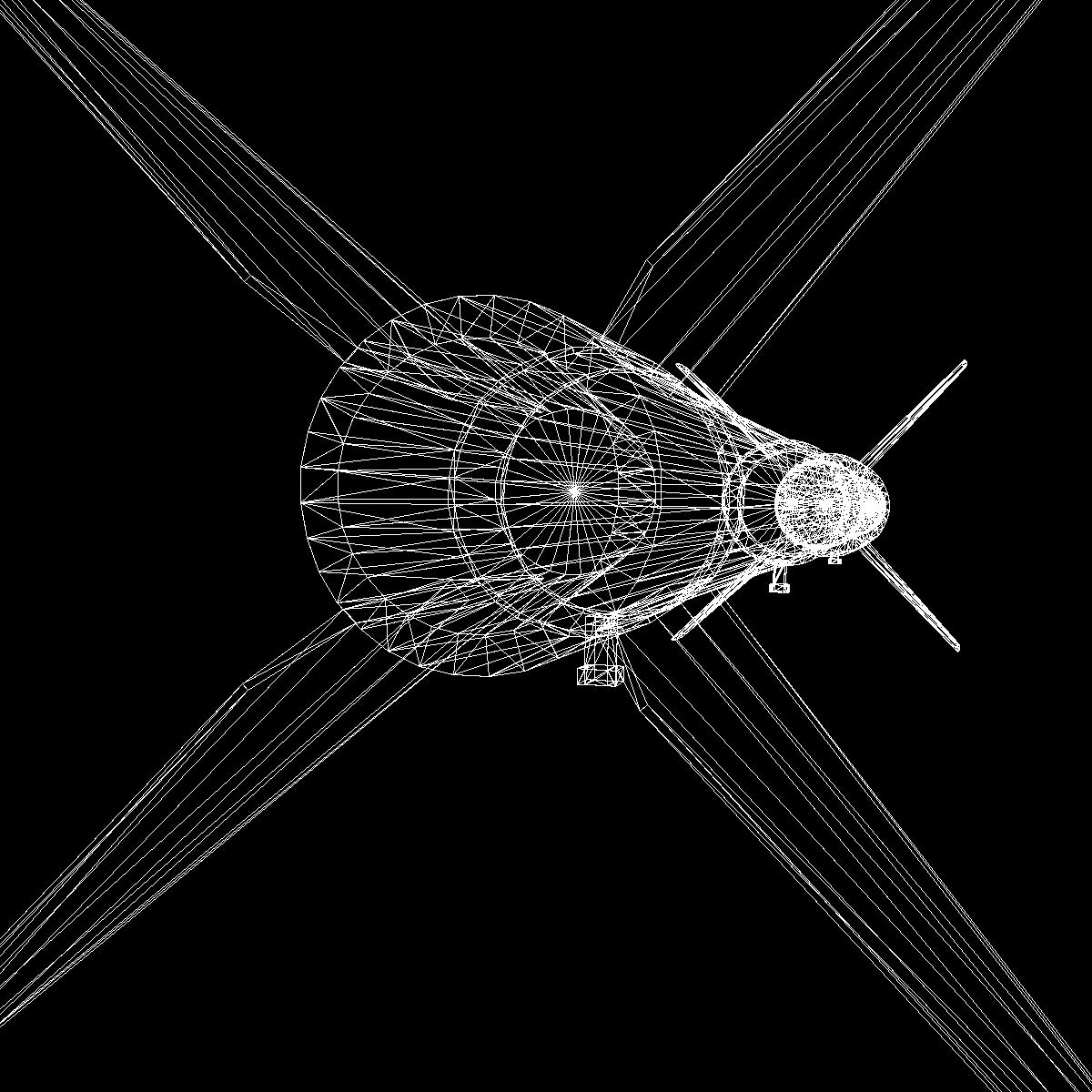 Astrobee 200 Rocket 3d model 3ds dxf fbx blend cob dae X   obj 165967