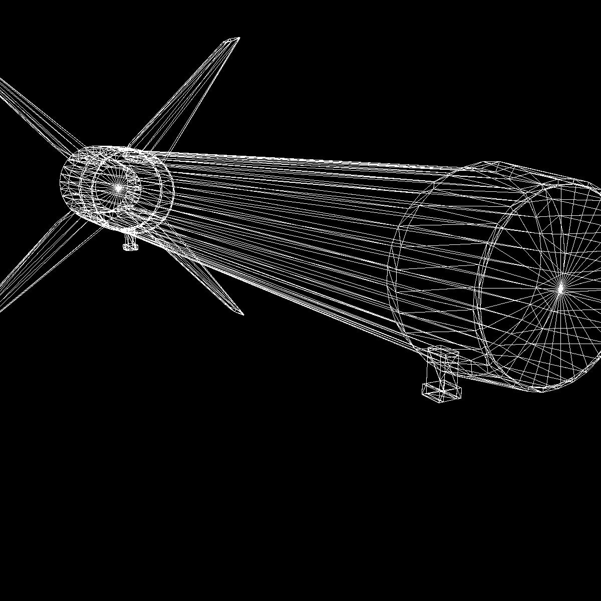 Astrobee 200 Rocket 3d model 3ds dxf fbx blend cob dae X   obj 165968