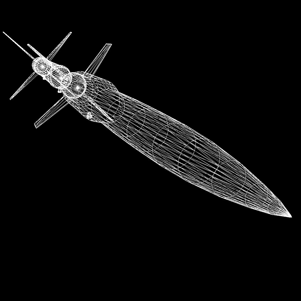 Astrobee 200 Rocket 3d model 3ds dxf fbx blend cob dae X   obj 165970