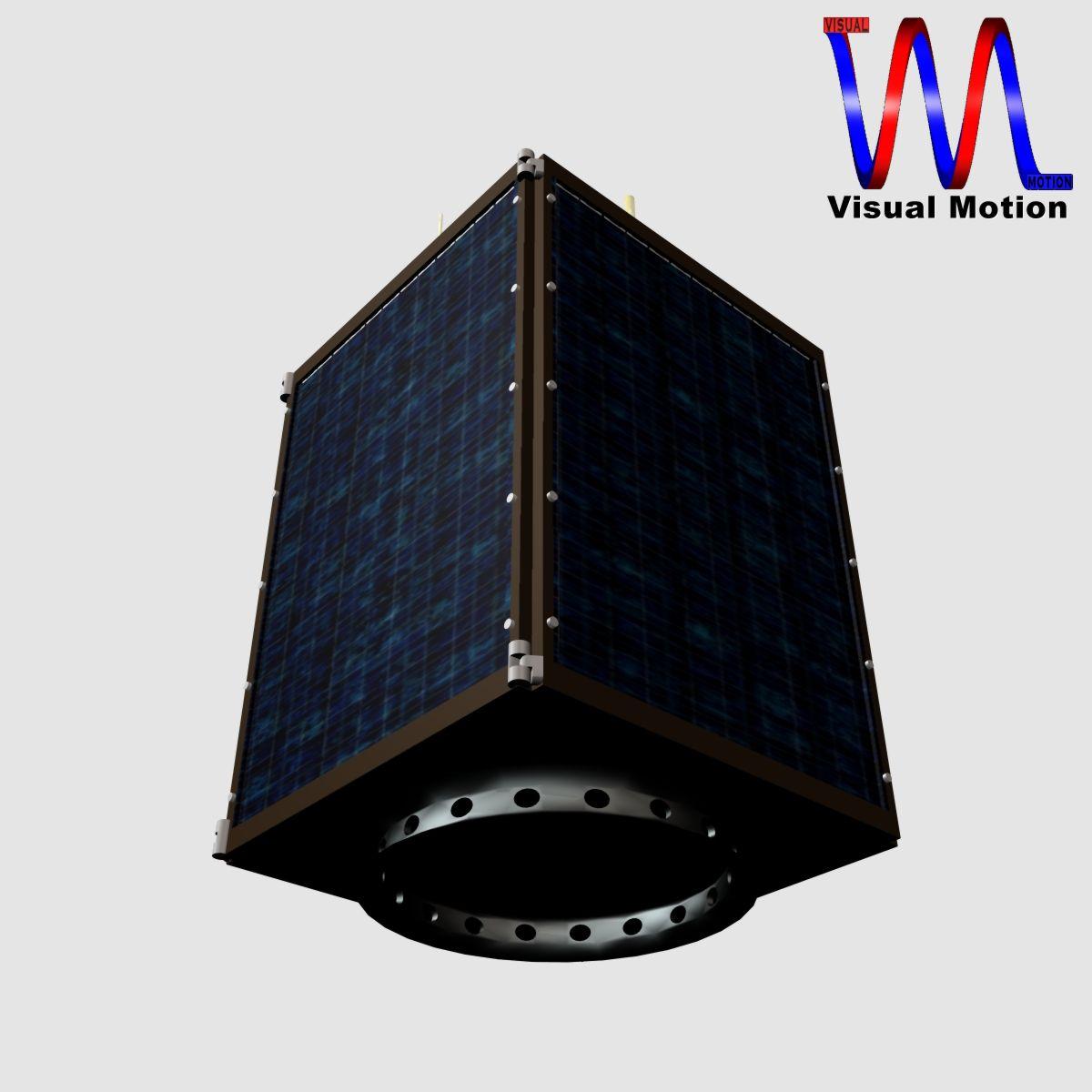 dprk kwangmyongsong-3 satellite 3d model 3ds dxf cob x obj 134456