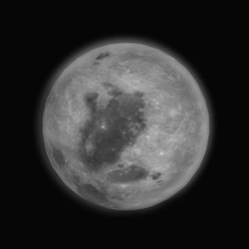 moon 3d model wrl wrz 97661