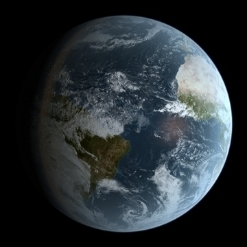 photorealistic earth 16k 3d model max 89225