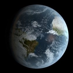 Photorealistic Earth 16k ( 69.01KB jpg by startrek37 )