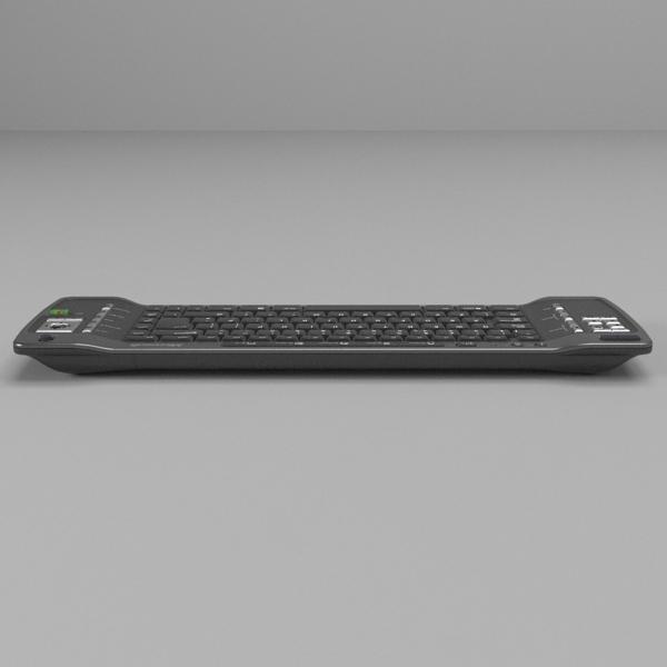 media center keyboard 3d model 3ds fbx skp obj 118882