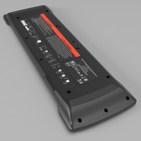 media center keyboard 3d model 3ds fbx skp obj 118886