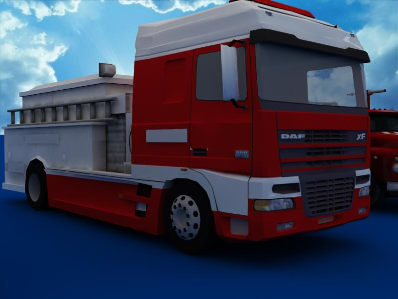 fire truck collection 3d model 3ds max dxf dwg fbx obj 120196