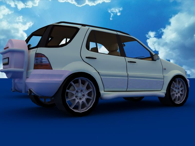 suv car collection 3d model 3ds max dxf dwg fbx obj 120326