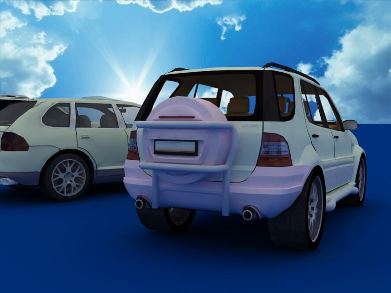 suv car collection 3d model 3ds max dxf dwg fbx obj 120327