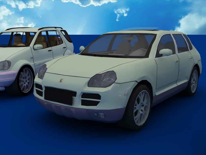 suv car collection 3d model 3ds max dxf dwg fbx obj 120331