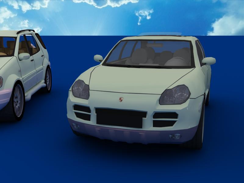 suv car collection 3d model 3ds max dxf dwg fbx obj 120332