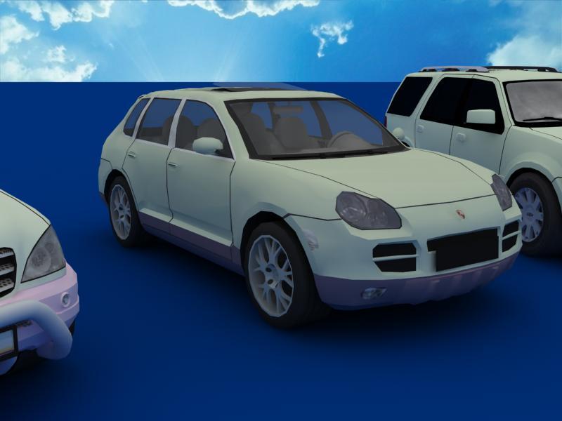 suv car collection 3d model 3ds max dxf dwg fbx obj 120333