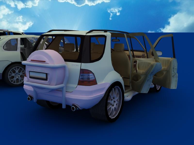 suv car collection 3d model 3ds max dxf dwg fbx obj 120340