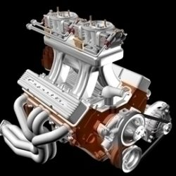 2X4 Chevrolet Engine ( 50.23KB jpg by ajwheels )