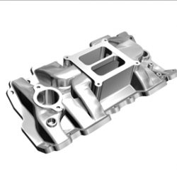 4 Barrel Intake Manifold ( 28.97KB jpg by ajwheels )