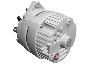 alternator 3d model 3ds dxf 110931