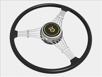banjo steering wheel 3d model 3ds dxf 99693