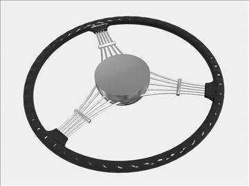 banjo steering wheel 3d model 3ds dxf 99694