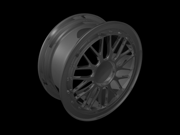bbs lm like rim 3d model 3ds 105687