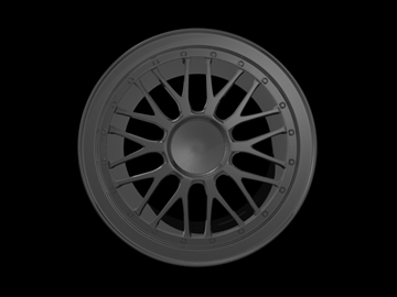 bbs lm like rim 3d model 3ds 105688