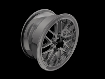 bbs rs gt kao 3d model 3ds 105666