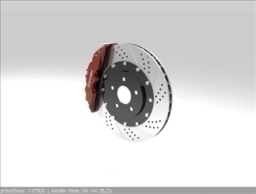 brembo brake 1 3d model 3ds max fbx c4d obj 111393