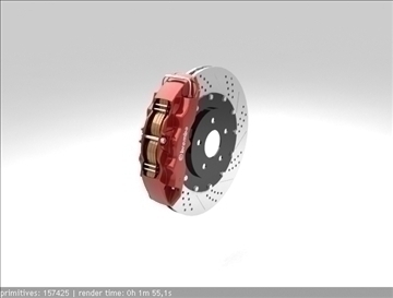 brembo brake 1 3d model 3ds max fbx c4d obj 111399
