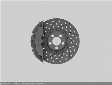 brembo brake 3d model 3ds max fbx c4d obj 111374