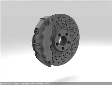 brembo brake 3d model 3ds max fbx c4d obj 111375