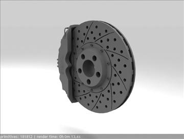 brembo brake 3d model 3ds max fbx c4d obj 111376