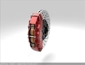 brembo brake 3d model 3ds max fbx c4d obj 111379