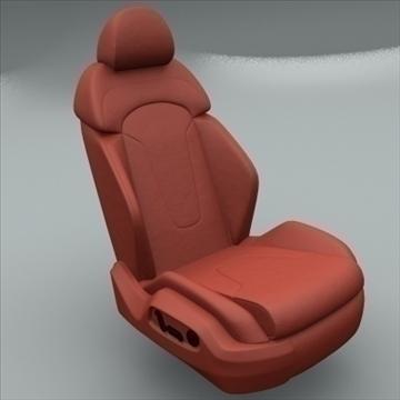 Audi üçün avtomobil oturacağı r8 3d model max obj 94297
