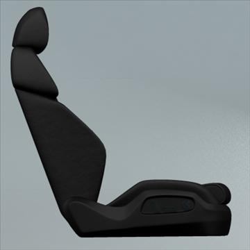 car seat for audi r8 3d model max obj 94298