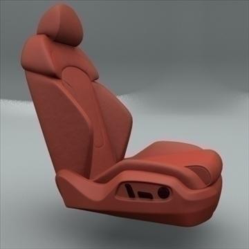 car seat for audi r8 3d model max obj 94299