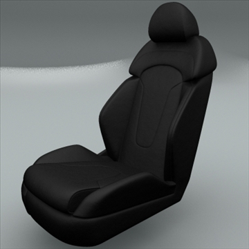 car seat for audi r8 3d model max obj 94301