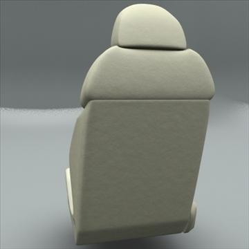 car seat for audi r8 3d model max obj 94302