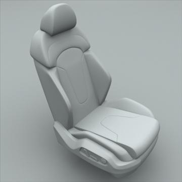 car seat for audi r8 3d model max obj 94303