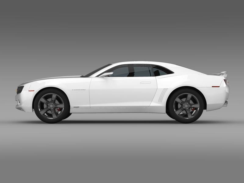 chevrolet camaro concept 3d model 3ds max fbx c4d lwo ma mb hrc xsi obj 143384
