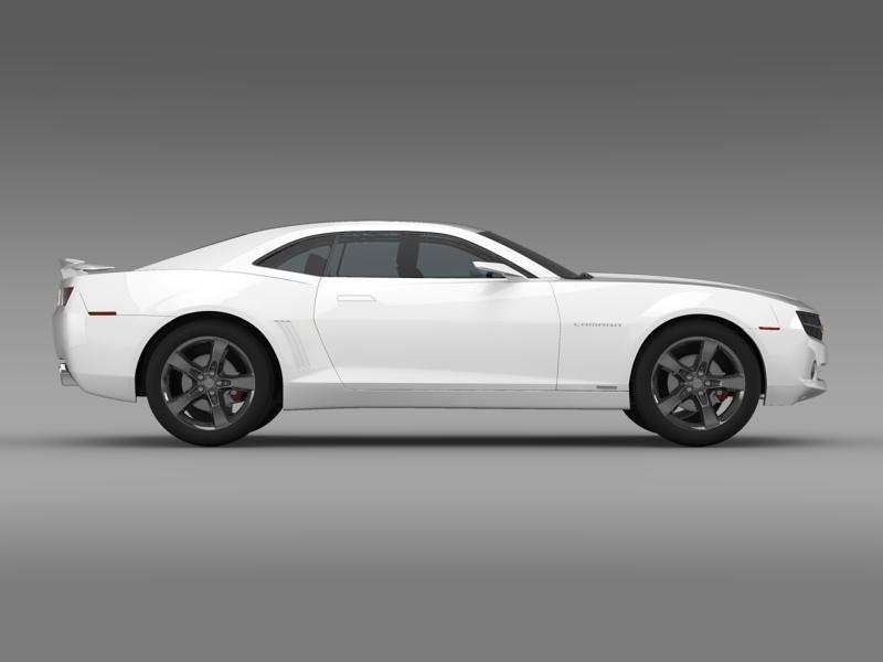chevrolet camaro concept 3d model 3ds max fbx c4d lwo ma mb hrc xsi obj 143390