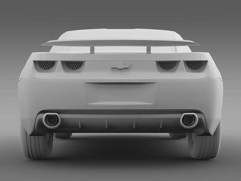 chevrolet camaro concept 3d model 3ds max fbx c4d lwo ma mb hrc xsi obj 143399