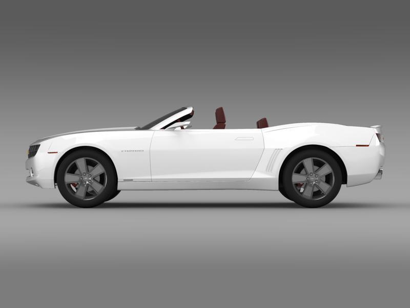 chevrolet camaro convertible concept 3d model 3ds max fbx c4d lwo ma mb hrc xsi obj 143416