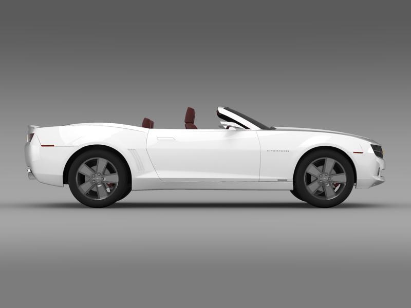 chevrolet camaro convertible concept 3d model 3ds max fbx c4d lwo ma mb hrc xsi obj 143422