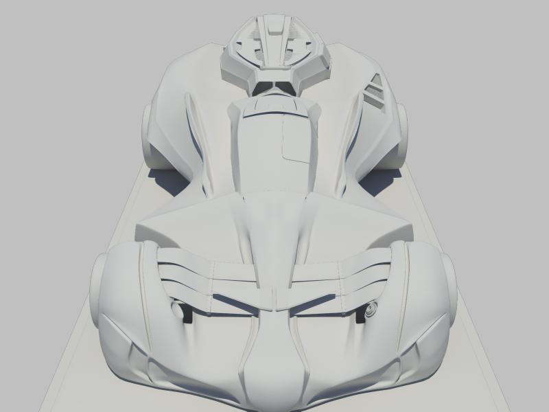concept car 3d model 3ds fbx dae ma mb obj 116319