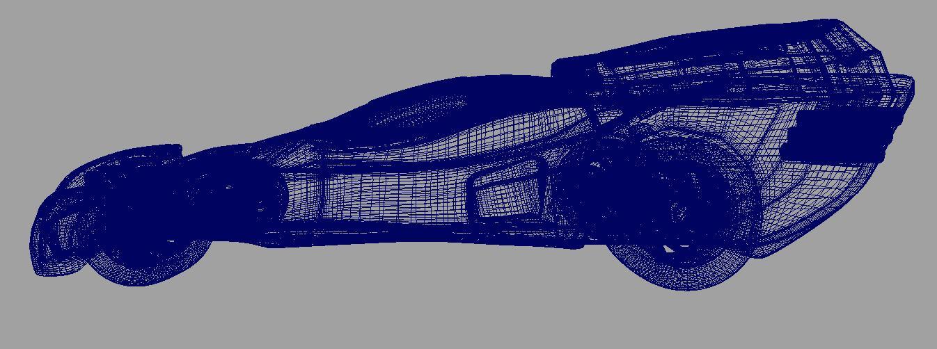 concept car 3d model 3ds fbx dae ma mb obj 116324