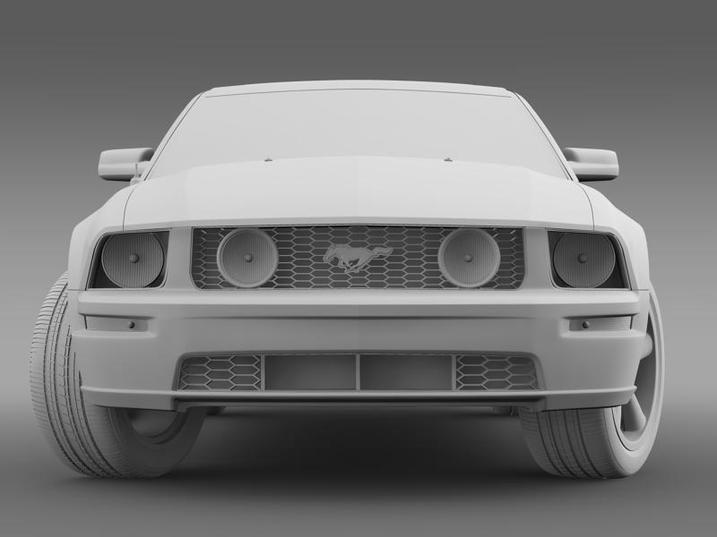 Ford mustang üvegfesték 2009 3d modell 3ds max fbx c4d lwo ma mb hrc xsi obj 143270
